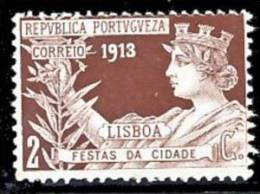 !■■■■■ds■■ Portugal Postal Tax 1913 AF#6(*) Lisbon Festivities 2 Cents (d0204) - Franchise