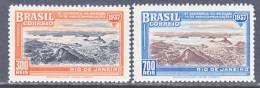 Brazil  443-4   *    RADIO  EXPO. - Unused Stamps