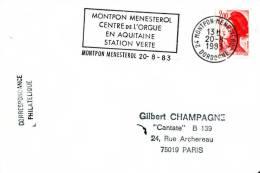 FRANCE - MONTPON MENESTROL - 1983  - ORGUE - ORGAN - Musique