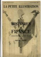 « Histoires De France », Présentées Au Théâtre Pigalle Par Sacha Guitry 1929 - 1900 - 1949