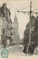 CPA DUNKERQUE (Nord) - Rue De L'Eglise - Dunkerque
