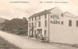 63 - LE CRATERE,  (HÔTEL DE LA NUGERE) ROUTE DE PONTGIBAUD - ECRITE - Frankreich