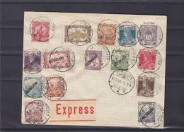 Hongrie - Document Exprès De 1919 ° - Kostarsasag - Lettres & Documents