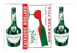 Paquet De PAPIER A ROULER Les CIGARETTES  VINS BELEBON & CALVADOS BOULARD - YVETOT - Tabac (objets Liés)