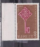 N° 1557 Europa 1968 - Unused Stamps