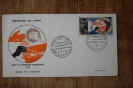 I-4  1965  ANNEE DE LA COOPERATION INT. - FDC