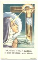 Kontich Carte Religieuse SANCTA RITA A CASCIA Ex Ordine Eremitarium Sancti Augustine CHRIST Crucifié Crucified C. 1910 - Kontich