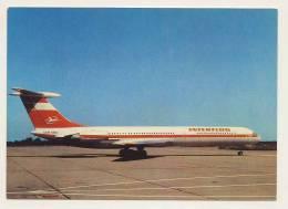 Aviation - Interflug IL62 - 1946-....: Modern Era