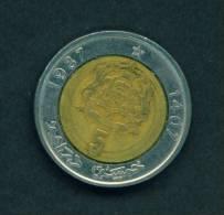 MOROCCO  -  1987  5 Dirham  Circulated As Scan - China