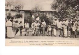 C  P  A-----GUINEE-FRANCAISE  Missions Des P-P Du St Esprit  -le Départ Des Catechistes - Guinée Française