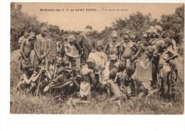 C  P  A----GUINEE-FRANCAISE  Missions Des P-P Du St Esprit  -une Lecon De Choses - Französisch-Guinea