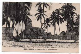 Cpa Iles Gilbert - Une Station De Missionnaire - (Archipel Des Kiribati - Gilbert And Ellice Islands - Kingsmill) - Kiribati