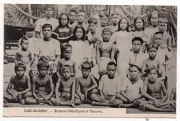 Cpa Iles Gilbert - Enfants Catholiques à Tarawa - (Archipel Des Kiribati - Gilbert And Ellice Islands - Kingsmill) - Kiribati
