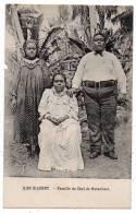 Cpa Iles Gilbert - Famille Du Chef De Butaritari - (Archipel Des Kiribati - Gilbert And Ellice Islands - Kingsmill) - Kiribati