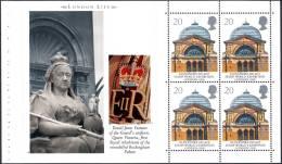GREAT BRITAIN (GB) - 1990 - SG 1493a - Pane From Prestige Booklet DX 11 - London Life - MNH - 1952-.... (Elizabeth II)