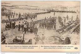 MOULAND ..-- FOURONS ..-- Bivouac Allemand . - Guerre 1914-18