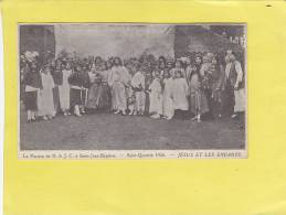 CPA - 02 -  La Passion De N.S.J.C. à Saint Jean Baptiste SAINT QUENTIN 1926 - Jésus Et Les Enfants - Saint Quentin