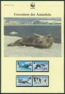 Brit. Gebiete In Der Antarktis  1992  WWF - Robben Und Pinguine  (4 ** (MNH))  Mi: 193-96 (7,50 EUR) - Britisches Antarktis-Territorium  (BAT)