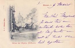 DOUAI  -  DOME  DE L EGLISE ST PIERRE - Douai