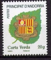 ANDORRE - BLASON VERTE 20G- 1 V NEUF**  - 2011 - Briefmarken