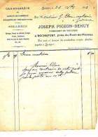 Rochefort - 1903 - Carrosserie - Sellerie - Joseph Pigeon-Dehuy (fabricant De Voitures) - Cars