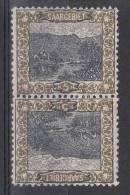 Saar: Mi 53 Kehrdruckpaar MH/* - 1920-35 Saargebiet – Abstimmungsgebiet