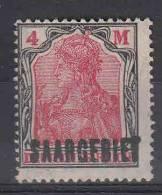 Saar: Mi 49 MNH/** - 1920-35 Saargebiet – Abstimmungsgebiet