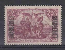 Saar: Mi 43 C Not Used, No Gumm (*) - 1920-35 Saargebiet – Abstimmungsgebiet