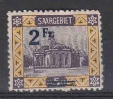 Saar: Mi 81 A II MH/* - 1920-35 Saargebiet – Abstimmungsgebiet