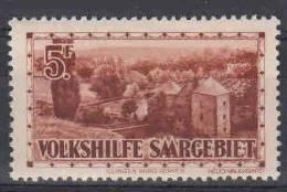 Saar: Mi 167 MNH/** - 1920-35 Saargebiet – Abstimmungsgebiet