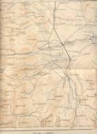 CARTA GEOLOGICA - DE LA REPUBLICA ARGENTINA AÑO 1956 DIRECCION NACIONAL DE MINERIA MAS MAPA DE MINERIA DE SALTA Y JUJUY - Monde