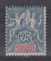 Nlle Calédonie, Yvert 62, MH/* - Ongebruikt