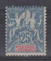 Nlle Calédonie, Yvert 62, MH/* - Neukaledonien