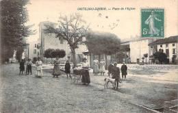 09 - Castelnau-Durban - Place De L'Eglise - France