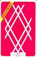 FDJ FRANCAISE DES JEUX MAILING 1 VOLET EN FORME DE CARTE A JOUER 10 X 15 Cm POKER PLUS LOTERIE NATIONALE GRATTAGE - Advertising