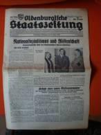Oldenburgische Staatszeitung, 30.6.1936, Nationalsozialismuns Und Wissenschaft - Zeitungen & Zeitschriften