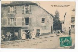 BRUNOY ( 91 ) Rue Tronchard Et La Cour Des Miracles ( Belle Animation ) - Autres Communes