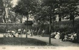 PARIS  5e AR   SQUARE SCIPION  ANIME - Distretto: 05