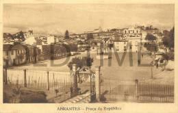 PORTUGAL - ABRANTES - PRAÇA DA REPUBLICA - 1940 PC - Santarem