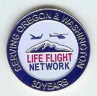 @@ Hélicoptère Avion Secours Médical Life Flight Net Work Serving Oregon & Washington 30 Years USA- (2.80) @@hel02 - Airplanes