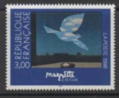 1998 - FRANCIA / FRANCE - ARTE - MAGRETTE - EMISSIONE CONGIUNTA COL BELGIO / JOINT ISSUE WITH BELGIUM. MNH - Emissioni Congiunte