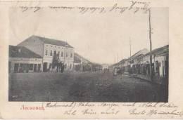 CPA SERBIE SERBIA LESKOVAC Street 1906 - Serbie