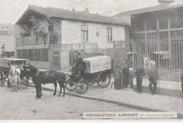 PARIS ( Chocolaterie Lombard ) - Arrondissement: 13