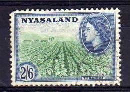 Nyasaland - 1953 - 2/6d Definitive - Used - Nyassaland (1907-1953)