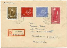 LSAU7 - DDR LETTRE DE MARS 1958 - [6] République Démocratique