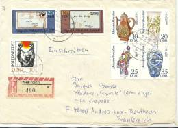 LSAU7 - DDR LETTRE DE SEPTEMBRE 1982 - Brieven