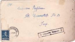 CERNAUTI,CHISINAU,COVER CENSORED,1943, UKRAINE,ROMANIA - Ucrania