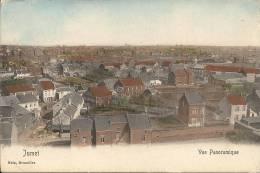 JUMET : Panorama - TRES RARE CPA - Cachet De La Poste 1905 - België