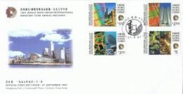 L-HG7 - HONG KONG FDC Worldbank Group International - 1997-... Chinese Admnistrative Region
