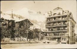 AK/CP  DAVOS DORF   NOUVEAU SANATORIUM  MILITÄR    Ungel./uncirc.   1914-18    Erhaltung/Cond.  2    Nr. 6618 - GR Grisons